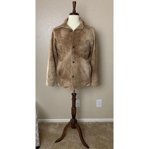 Andrew Marc Vintage Suede Leather Jacket